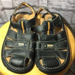 Jumbo Coco Navy Blue Boys Sandals